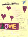 Love is peace card