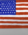 Painting of the United States flag