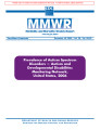 Prevalence of autism spectrum disorders-- Autism and Developmental Disabilities Monitoring...