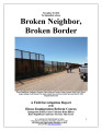 Broken neighbor, broken border: a field investigation report of the House Immigration Reform Caucus