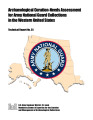 Archaeological curation-needs assessments for Army National Guard collections in the Western...