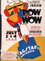 1940 Flagstaff All-Indian Powwow Program