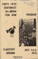 1974 Flagstaff All-Indian Powwow Program
