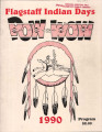 1990 Flagstaff All-Indian Powwow Program