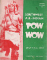 1957 Flagstaff All-Indian Powwow Program