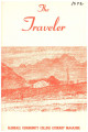 """The Traveler""  Glendale Community College Literary Magazine, 1972"