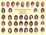 Nursing Program Graduation Portraits Spring 1997