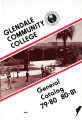 Glendale Community College General Catalog, 1979-1980 and 1980-1981