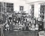 Class Visit to Glendale Library, 1950s