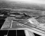 Photograph/aerial view of Luke Air Force Base in Glendale (Ariz.)
