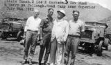 Photograph of Arizona Governor George W.P. , Johnie Bunch, Lee Knutson and Harry McCullough at a...