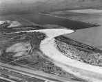 Photograph of the Santa Cruz River Valley in Pima County (Ariz.), south of Tucson.  Photograph was...