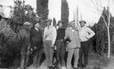 Photograph of Arizona Governor George W.P.  and a group of men in Phoenix (Ariz.)