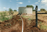 Photograph/color image of a water tank, used to water cattle, on the Triangle M Ranch in Sonoita...