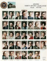 Photograph/color collage of the members of the 33rd Arizona State Senate in Phoenix (Ariz.).
