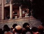 Photograph of Governor Bruce Babbitt's inauguration at the Arizona State Capitol in Phoenix (Ariz.)