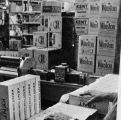 Photograph of a retail store with boxes of various brands of cigarettes in Arizona.