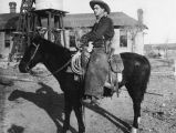 Photograph of Jim Brister, a cowboy at the Lazy B Ranch in Duncan (Ariz.)