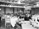Photograph of the La Posada dining room in Winslow (Ariz.).