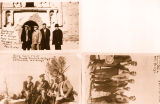 Photograph/set of three prints of Arizona Governor George  and other men, taken at various Arizona...
