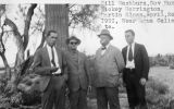 Photograph of Governor George  and a group of men in Agua Caliente (Ariz.).