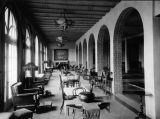 Photograph of the dining room at the Hotel San Marcos in Chandler (Ariz.)