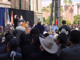 Photograph/digital file of the inauguration of Arizona Governor Janet Napolitano in Phoenix (Ariz.)