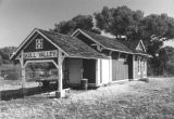 Photograph of the Skull Valley Railroad Depot in Skull Valley, Yavapai County (Ariz.)
