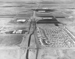Photograph/aerial view of the construction of Interstate 17, the Black Canyon Freeway, between...