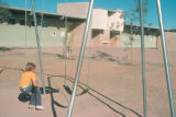 Photograph of a school playground in Phoenix (Ariz.)