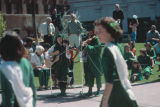 Photograph of Irish dancers at a St. Patrick's Day event in Phoenix (Ariz.).