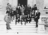 Photograph of various town government officials in Tucson (Ariz.).
