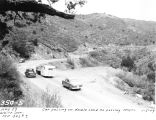 Photograph of cars on United States Highway 89 at White Spar, near Prescott (Ariz.).