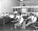 Photograph of a joint meeting of the representatives from the Arizona House of Representatives and...
