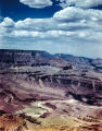 Photograph/color transparency/birdseye view of the Salt River Canyon in Gila County (Ariz.).