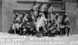 Photograph of the baseball team at Creighton School District in Phoenix (Ariz.).