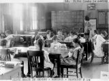 Photograph of eighth grade home economics students in Morenci Schools, Morenci (Ariz.).