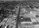 Photograph of an aerial view of U.S. 80 in Yuma (Ariz.)