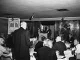 Photograph of Highway Department staff at a Traffic Safety Meeting at the Westward Ho Hotel in...