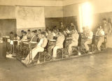 Photograph of Mexican students at the Fort Grant School in Graham County (Ariz.)
