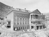 Photograph of the Montana Hotel, a residence for area miners, in Jerome (Ariz.)