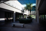 Photograph of pedestrian area at Biltmore Fashion Square, a shopping center in Phoenix (Ariz.).