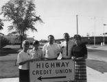 Photograph of unidentified Arizona credit union members.