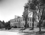 Photograph of Building 28 at the Veterans Administration Medical Center, Fort Whipple in Prescott...
