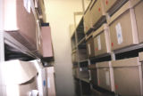 Photograph of storage at the Flagstaff Public Library in Flagstaff (Ariz.).
