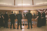 Photograph of carolers singing in the rotunda at the Arizona Capitol Museum in Phoenix (Ariz.).