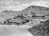 Photograph of facilities at the Detroit Copper Mining Co. in Morenci (Ariz.).