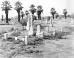 Photograph of the Pioneer Cemetery in downtown Phoenix (Ariz.).