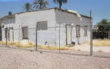 Photograph of dilapidated buildings near 7th Avenue and Lincoln in Phoenix (Ariz.).