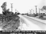 Photograph of Cashion Road in Maricopa County (Ariz.) at Lateral 24 degrees
